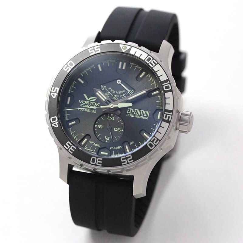 VOSTOK EUROPE(ボストーク ヨーロッパ) エクスピディション エベレスト アンダーグラウンド 自動巻き YN84-597A543 腕時計