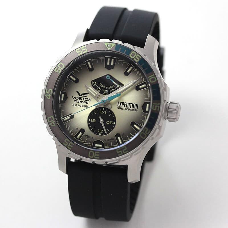 VOSTOK EUROPE(ボストーク ヨーロッパ) エクスピディション エベレスト アンダーグラウンド 自動巻き YN84-597A544 腕時計