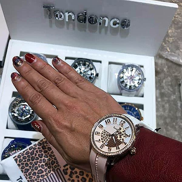 3Dインデックス テンデンス腕時計