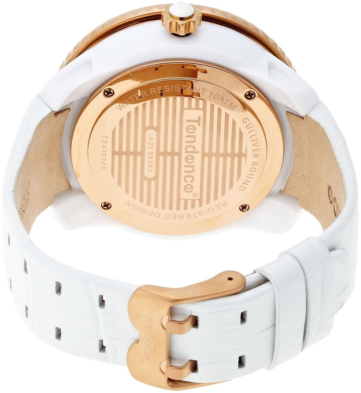 テンデンス 革ベルト 腕時計