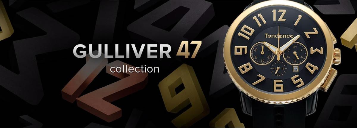 スイス発ブランド テンデンス Tendence ガリバー47 腕時計