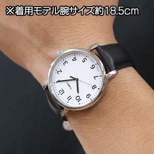 TIMEX タイメックス 腕時計 スタイリッシュ モダンイージーリーダー 男性着用イメージ