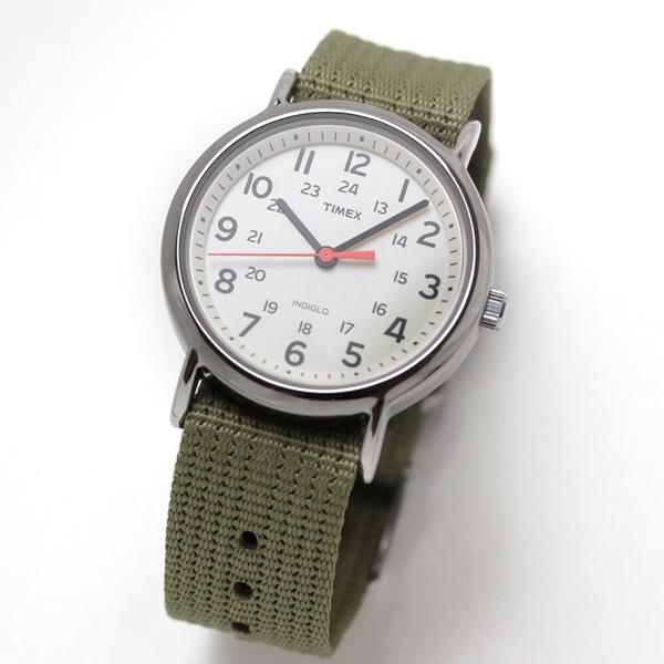 TIMEX(タイメックス)腕時計/ウィークエンダー セントラルパーク 38mm t2n651 オリーブ