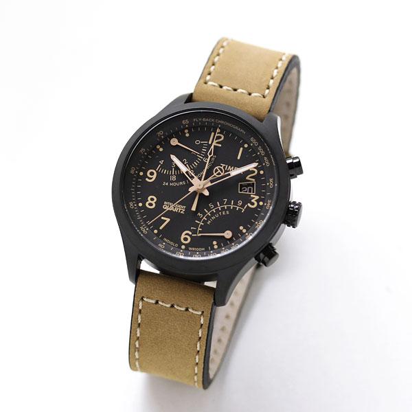 TIMEX タイメックス 腕時計 クロノグラフ レーシングフライバック