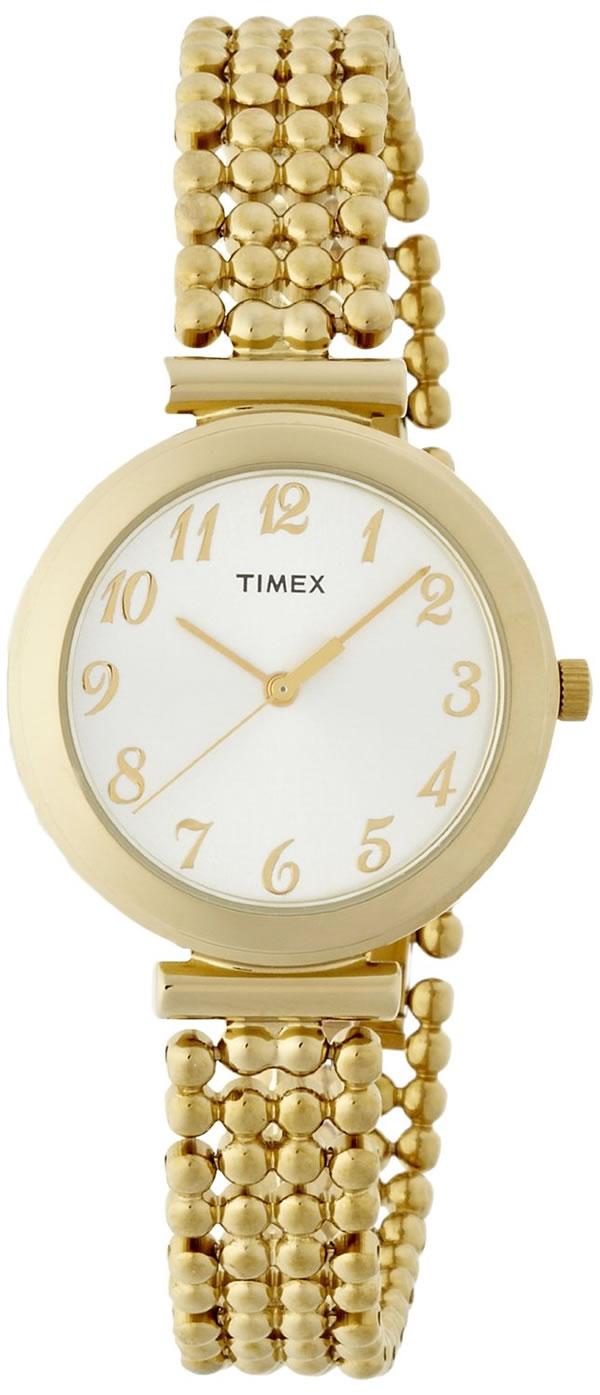 TIMEX ノッティング・ヒル ゴールドボールブレスレット T2P205 レディース