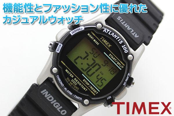 TIMEX タイメックス 腕時計 機能性とファッション性に優れたカジュアルウォッチ