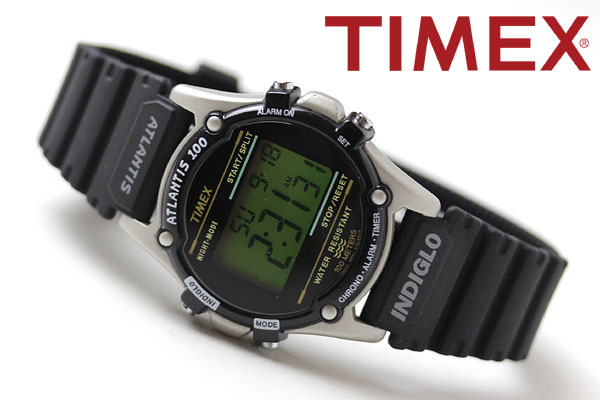 TIMEX タイメックス 腕時計 スタイリッシュ アトランティス