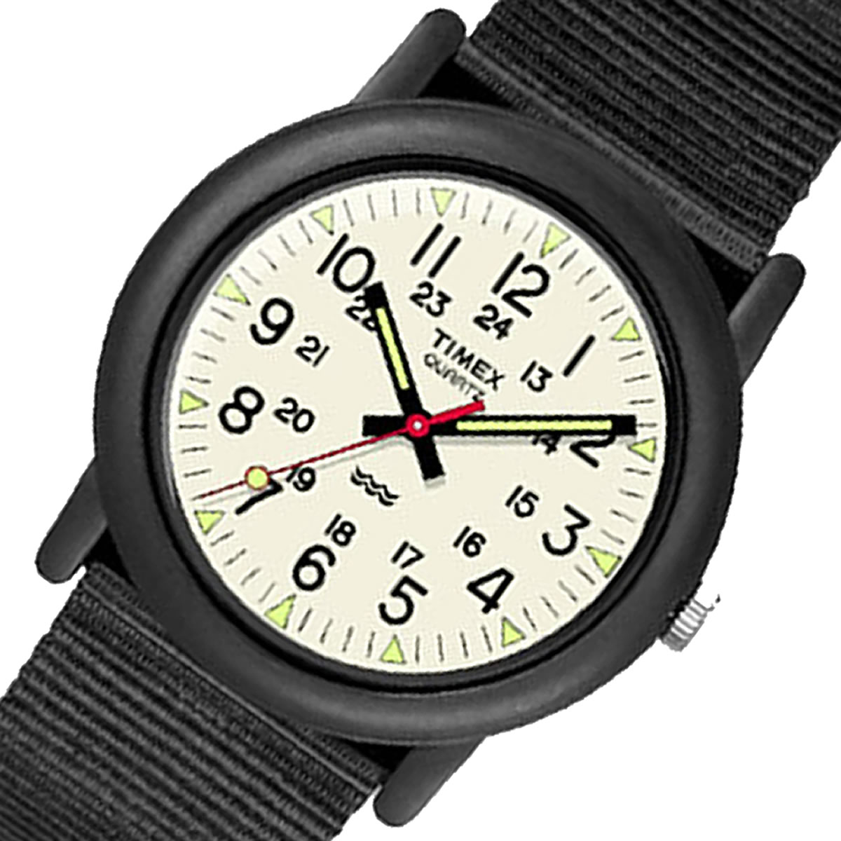 TIMEX Camper  JAPAN Limited ブラック 34mm TW2P59700