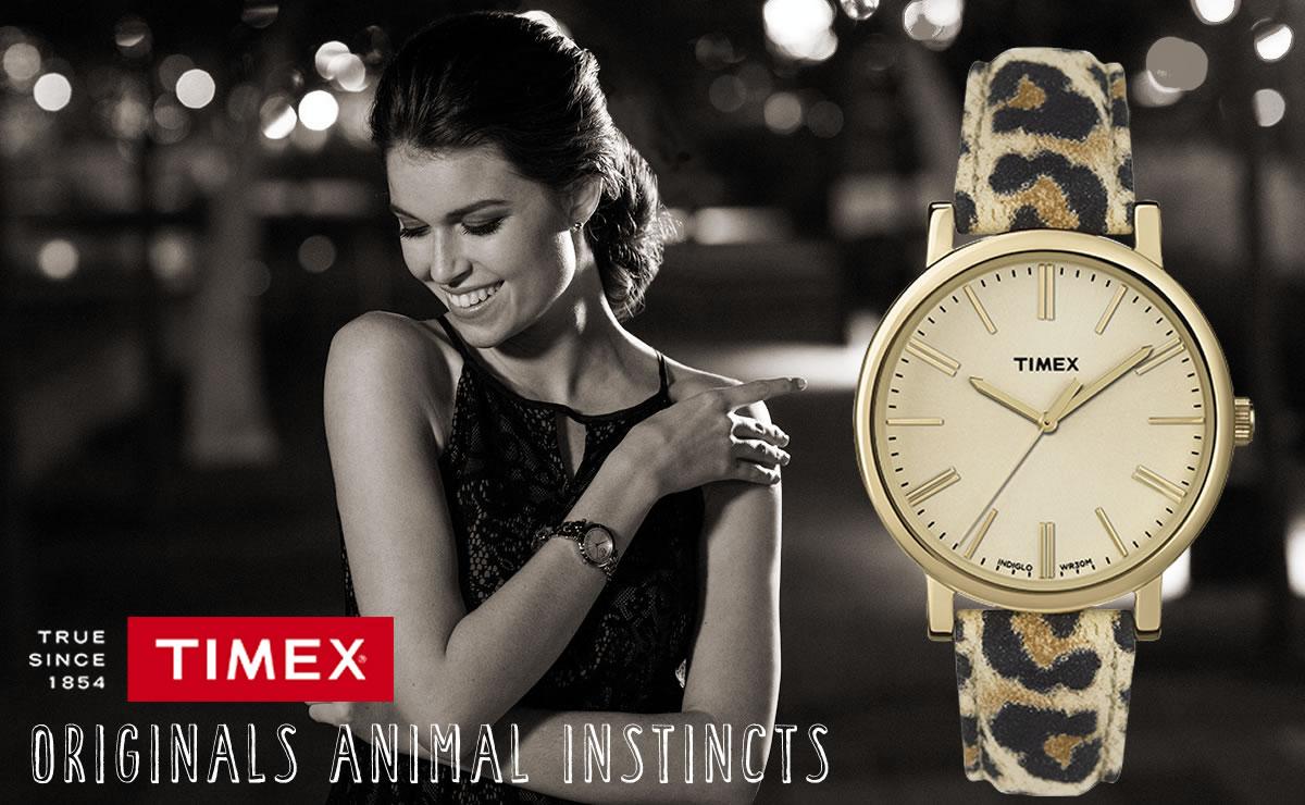 TIMEX  オリジナル  アニマル tw2p69800