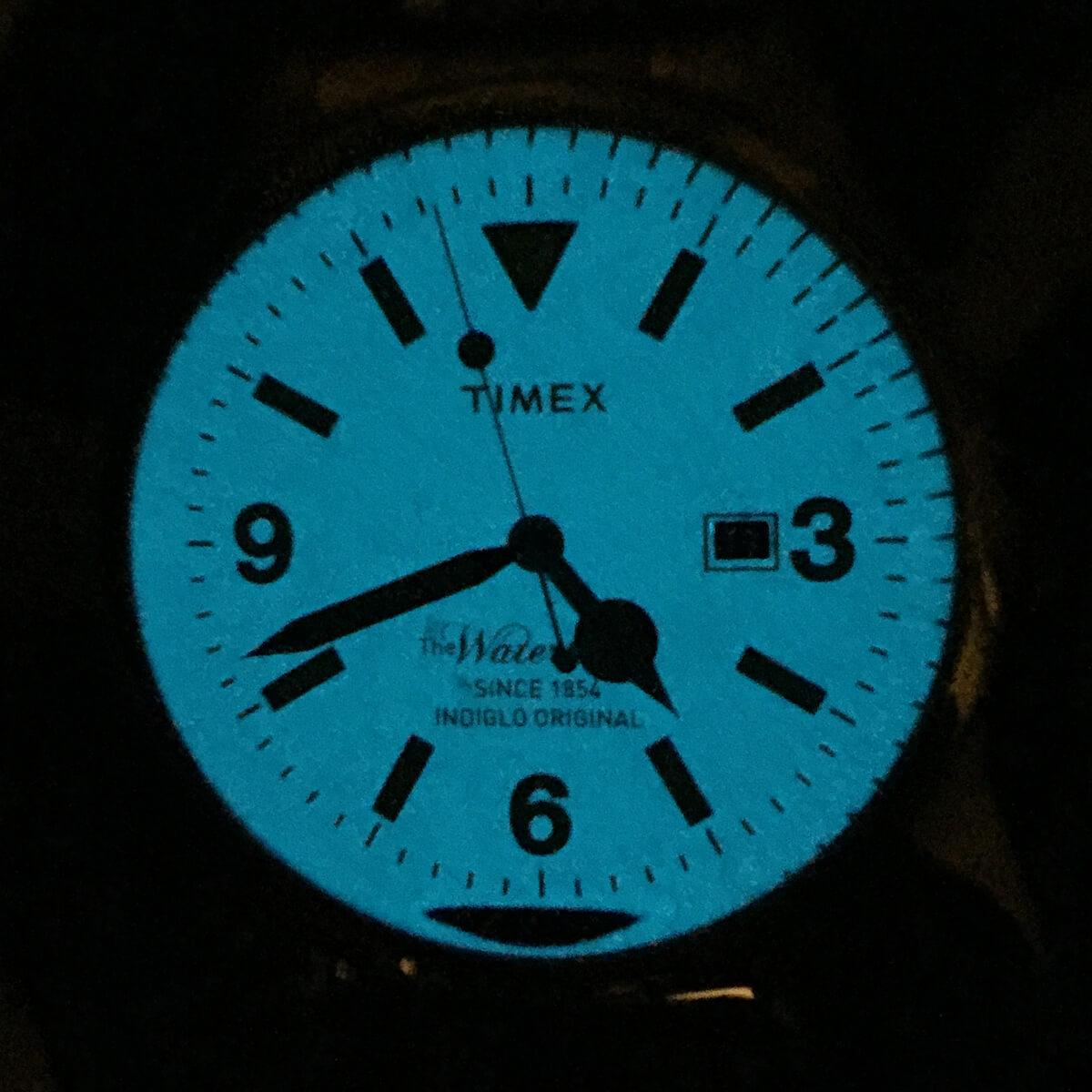 タイメックス ザ ウォーターベリー tw2p75100 インディグロナイトライトイメージ