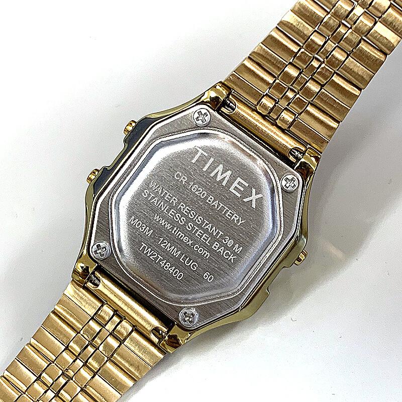 タイメックス腕時計 裏蓋