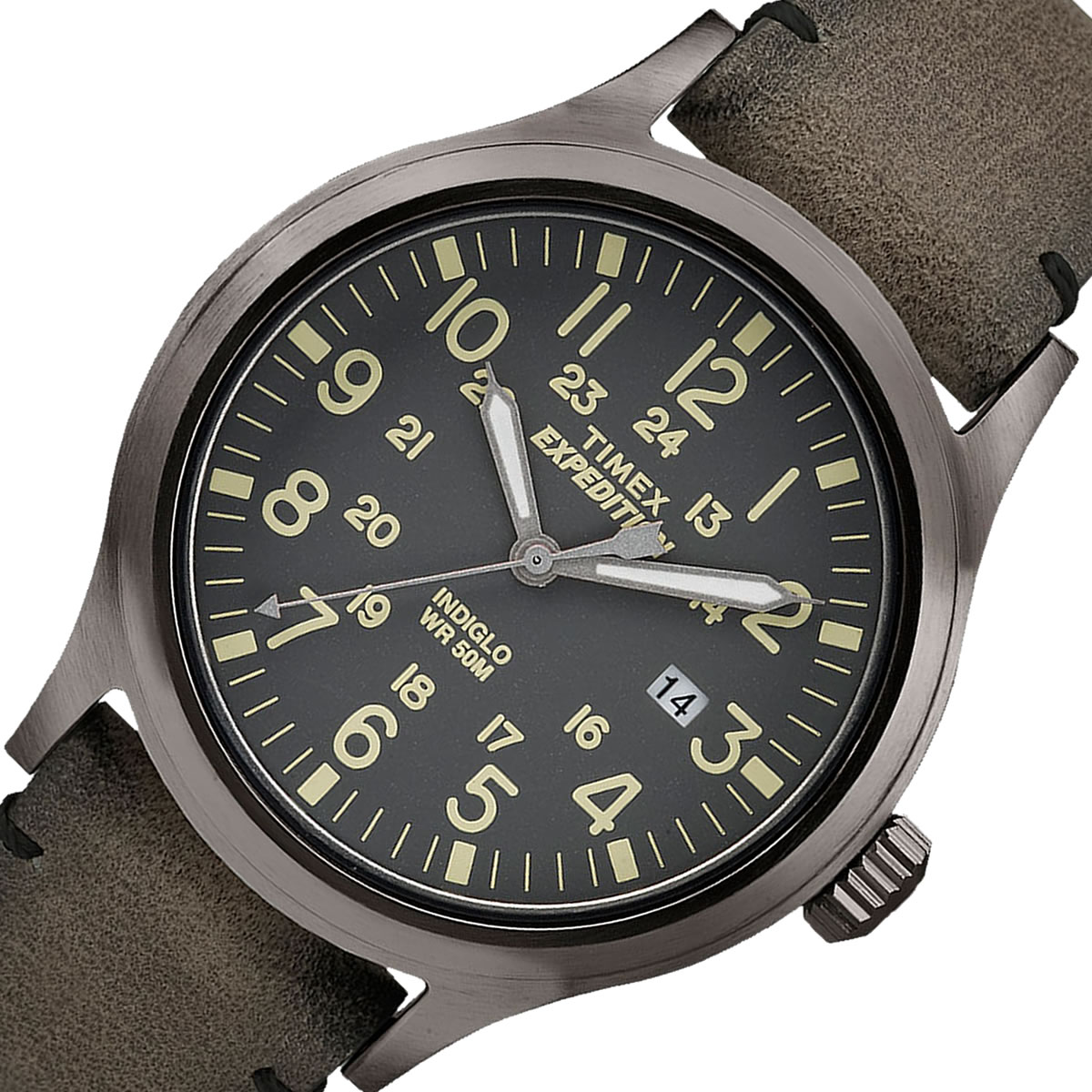 TIMEX Expedition  SCOUT カーキ 40mm TW4B01700