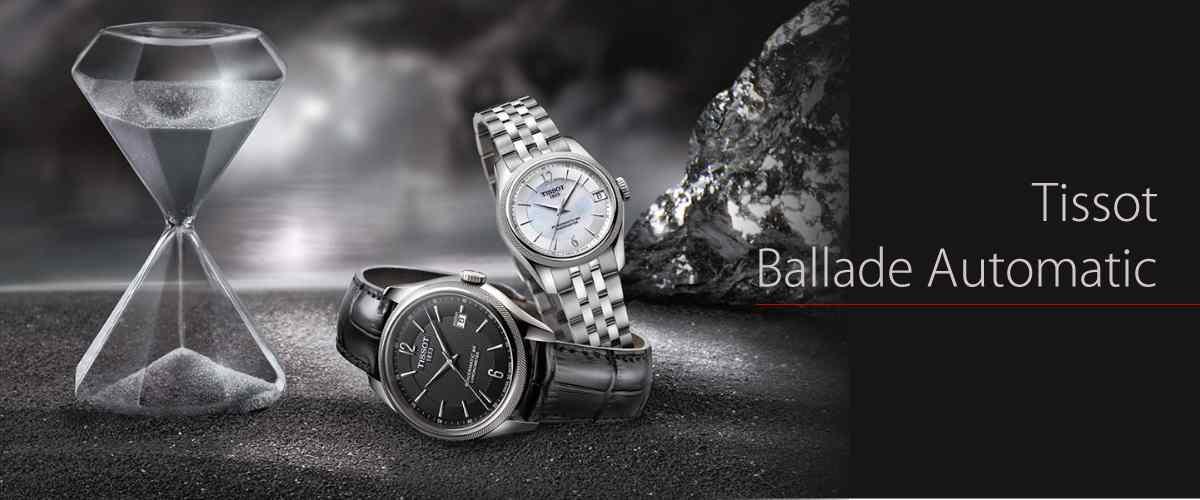 TISSOT(ティソ) Ballade Automatic (バラード オートマティック)腕時計