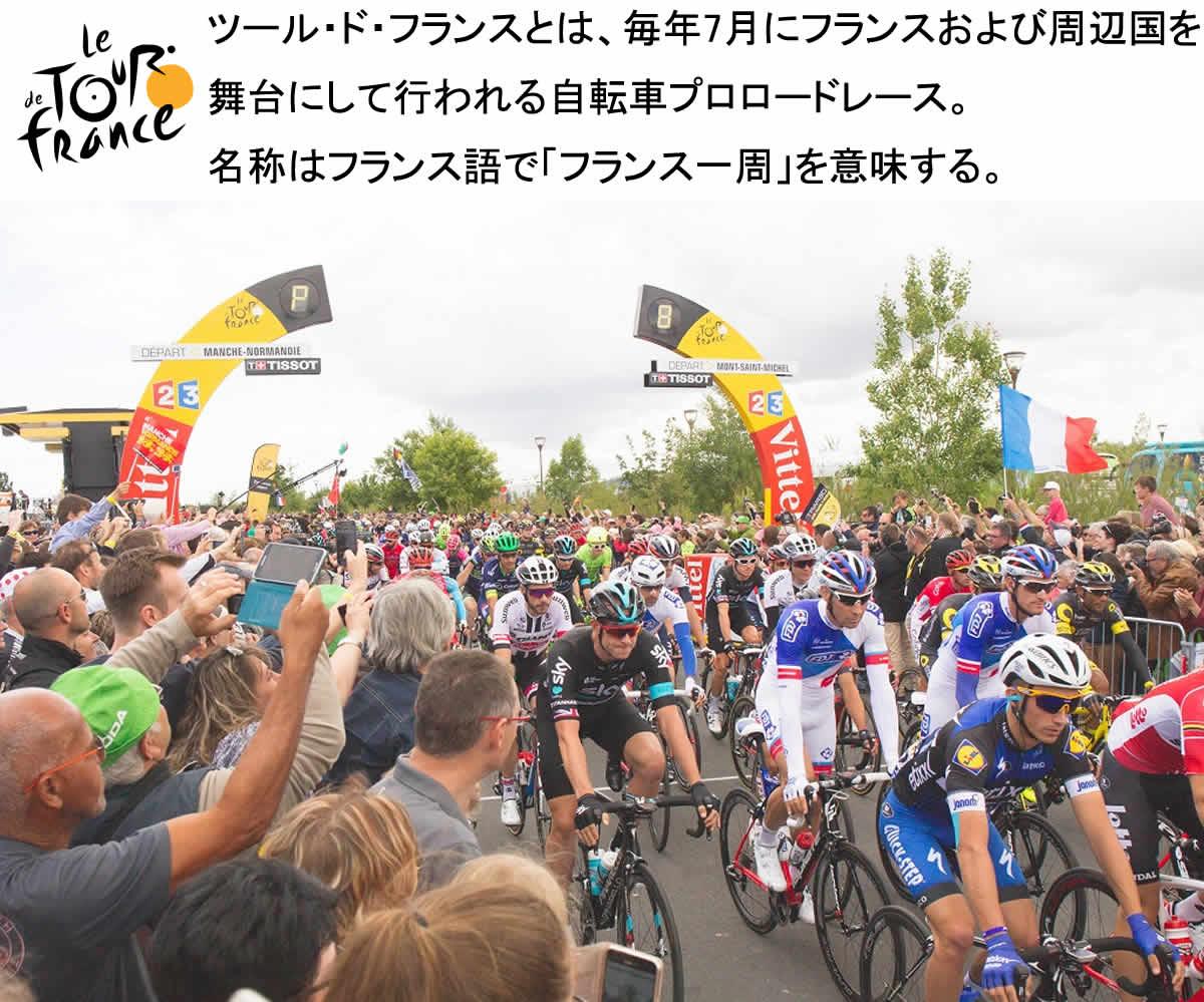 自転車プロロードレース ツールドフランス