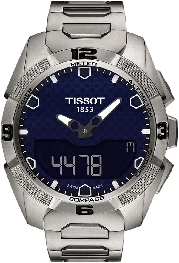 TISSOT  T-TOUCH EXPERT SOLAR T091.420.46.051.01 レザーベルト