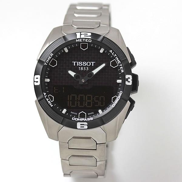 ティソ(TISSOT)T-タッチ エキスパートソーラー t091.420.44.051.00 チタニウムベルト