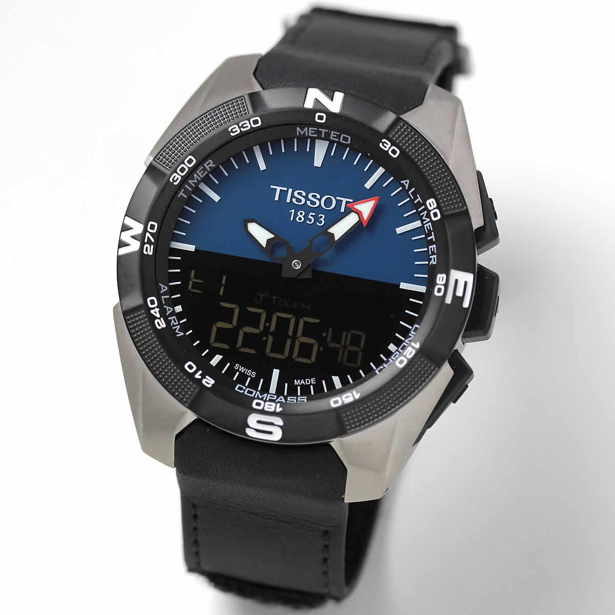 ティソ T-タッチ EXPERT SOLAR