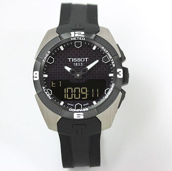 ティソ(TISSOT)T-タッチ エキスパートソーラー T091.420.47.051.00 ラバーベルト