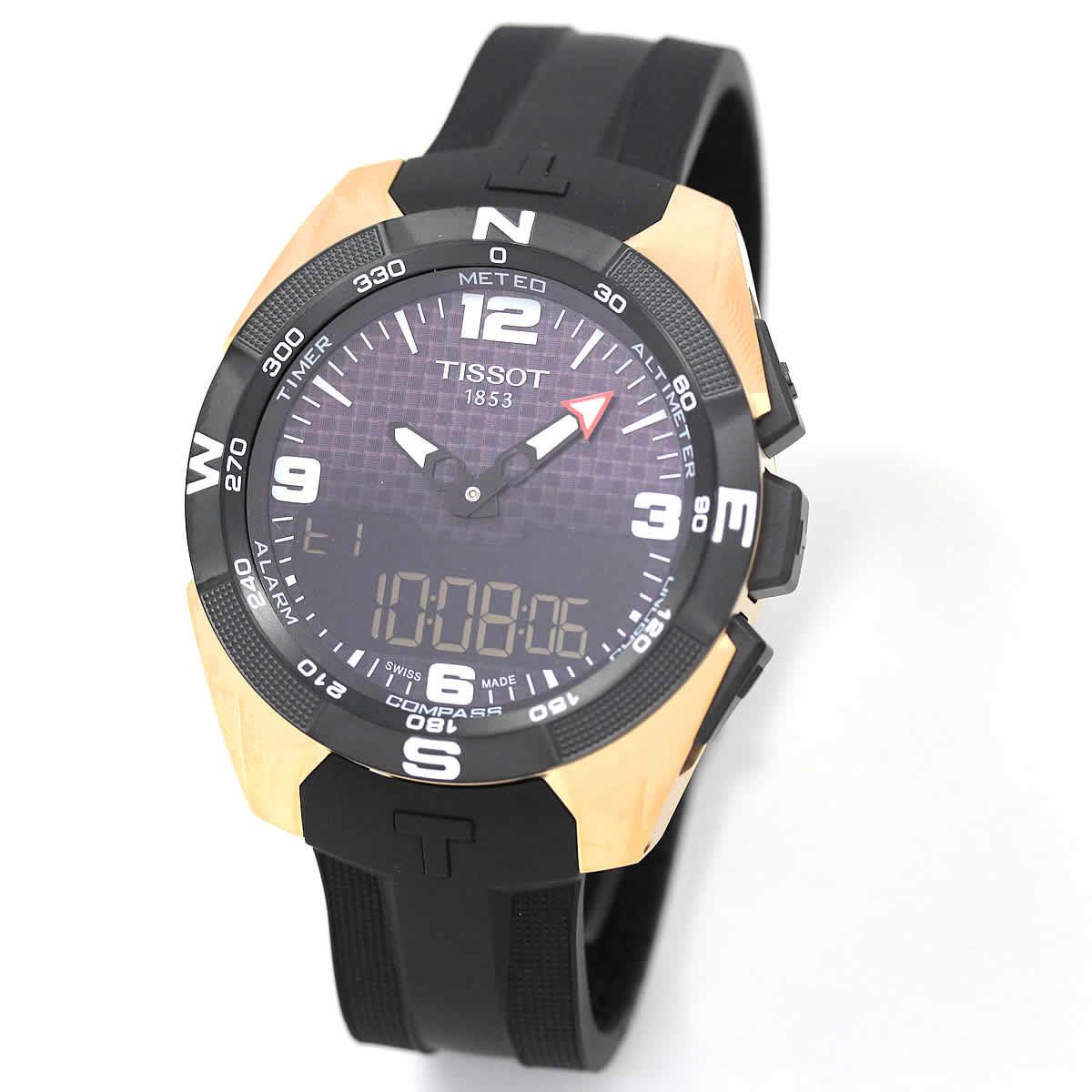 ティソ 広告 時計 モデル