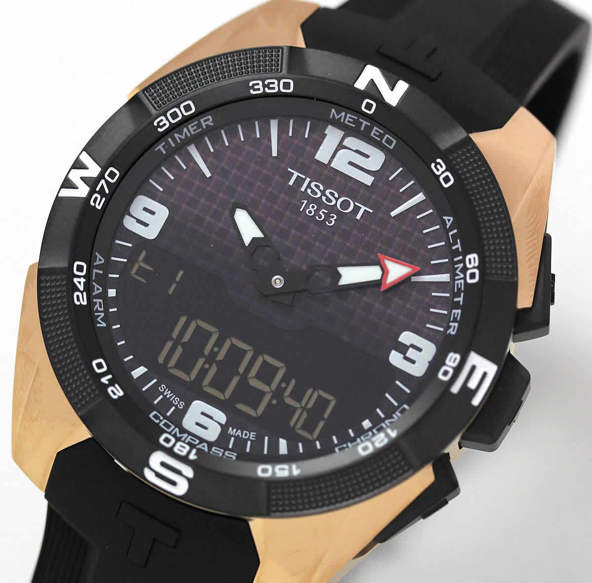 ティソ T-タッチ ソーラー 腕時計