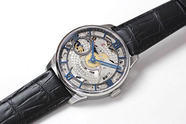 ティソ TISSOT スケルトン 腕時計