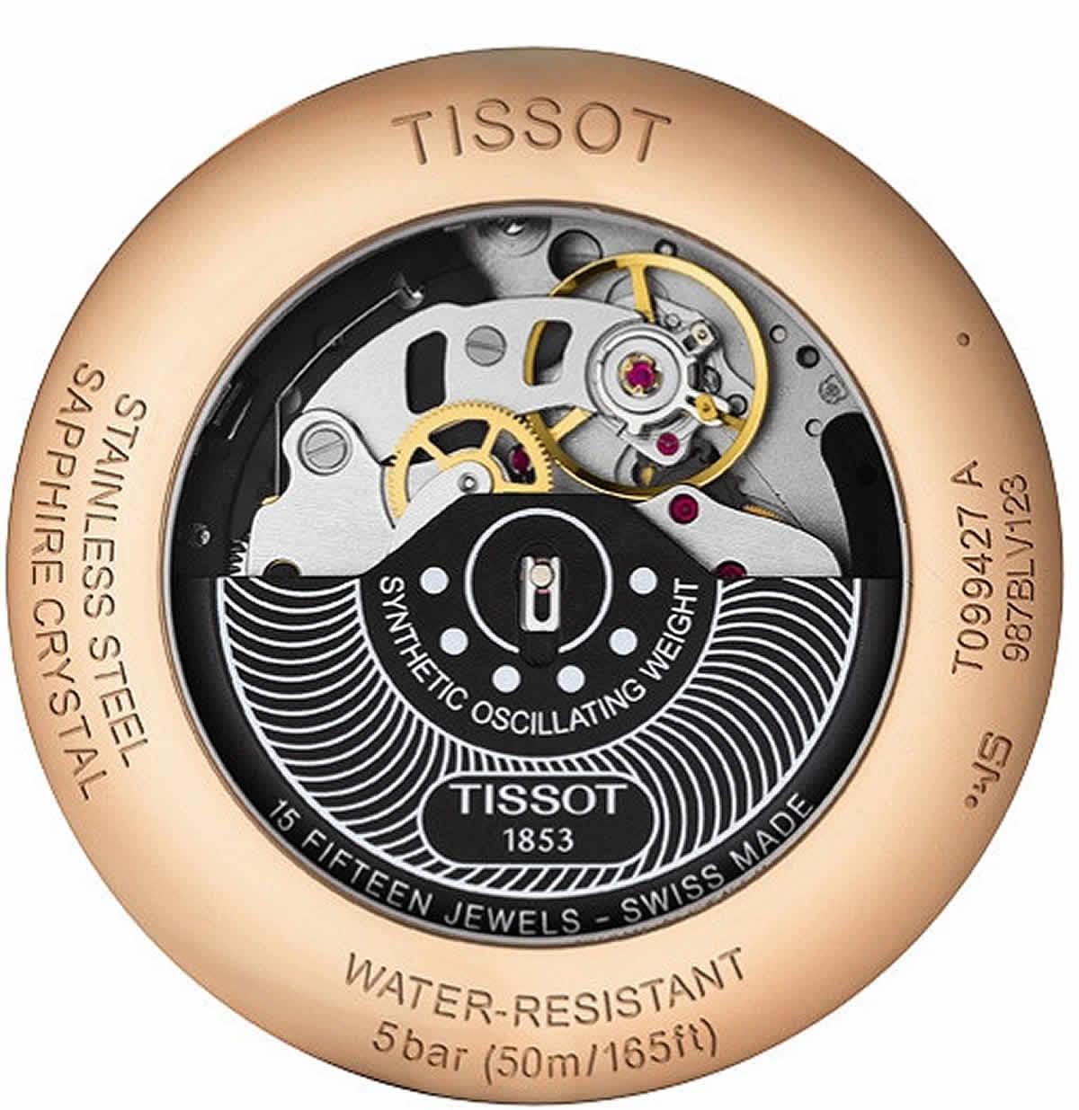 ティソ(TISSOT)シュマン・ド・トゥレル(CHEMIN DES TOURELLES AUTOMATIC)クロノグラフ T099.427.11.038.00
