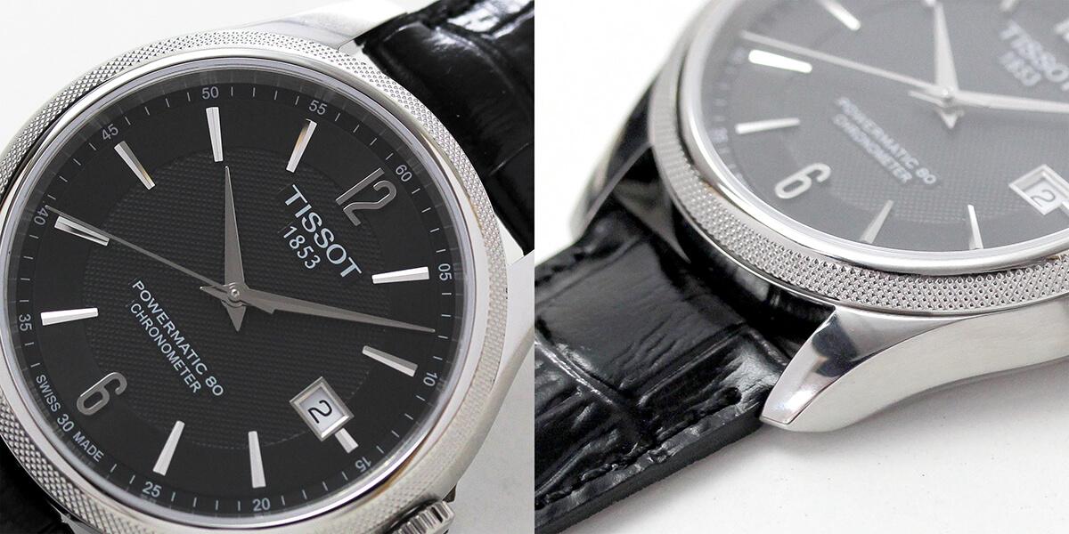 TISSOT(ティソ バラード オートマティック 腕時計 美しいギョーシェ模様の文字盤やベゼル