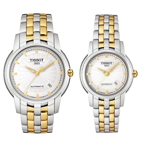 TISSOT(ティソ) T-CLASSIC BALLADE III ペアウォッチ 自動巻き 腕時計 T97.2.483.31-T97.2.183.31