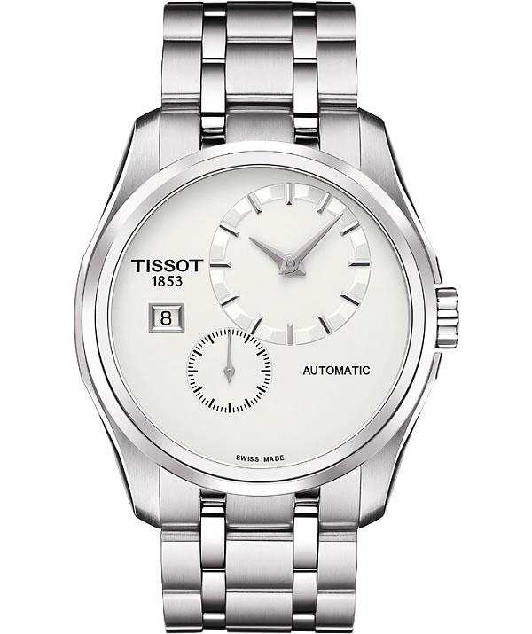 ティソ(TISSOT)クチュリエ オートマティック T035.428.11.031.00 ホワイト