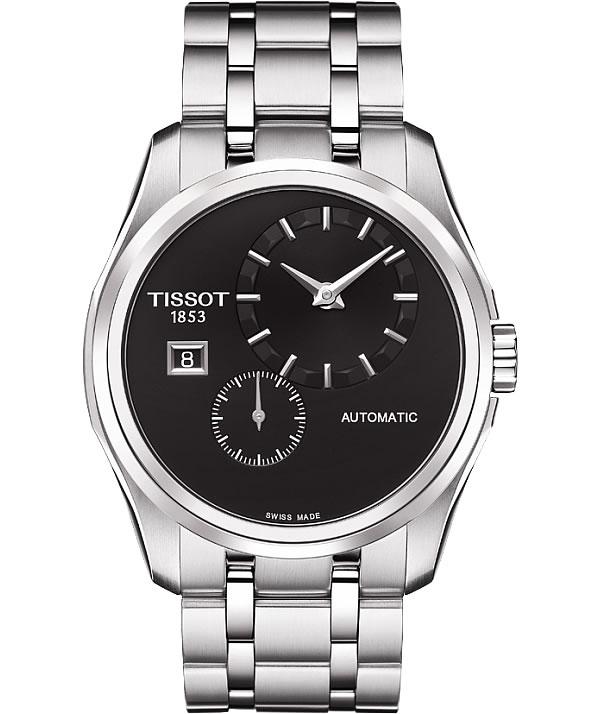 ティソ(TISSOT)クチュリエ オートマティック T035.428.11.051.00 ブラック