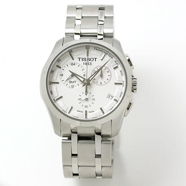 ティソ(TISSOT)クチュリエ GMT ホワイト T0354391103100