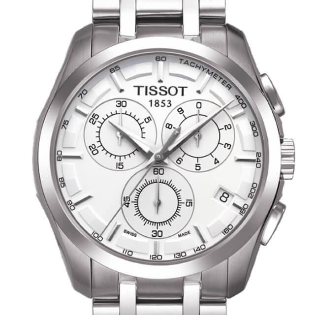 TISSOT Couturier Quartz Chronograph t0356171103100