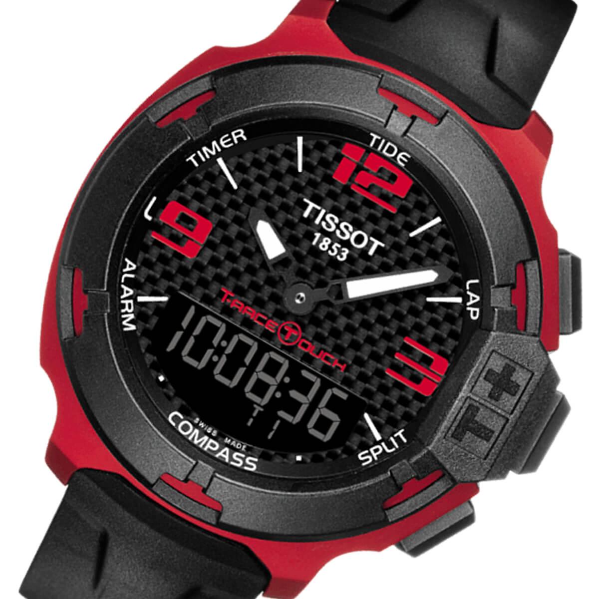 TISSOT T-RACE TOUCH ALUMINIUM T081.420.97.207.00 腕時計 T-タッチ