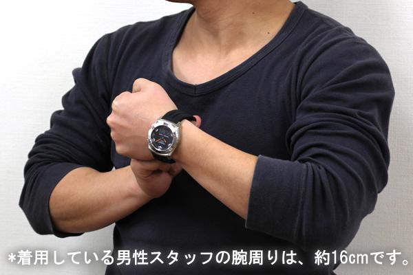 TISSOT ティソ レーシングタッチ 腕時計 正美堂男性スタッフ着用