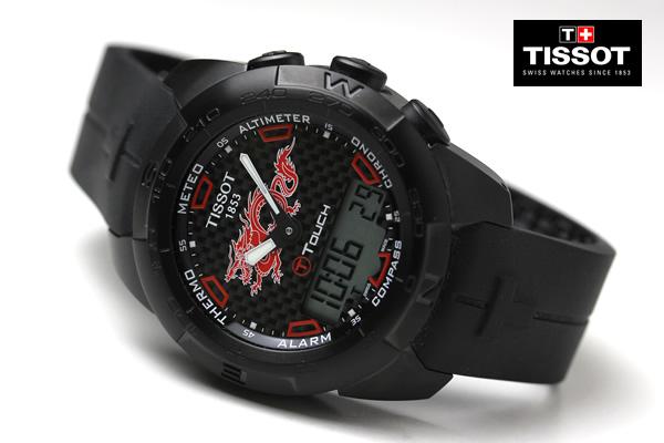 ティソ腕時計 TI-TOUCH ドラゴン DRAGON t0134204720101