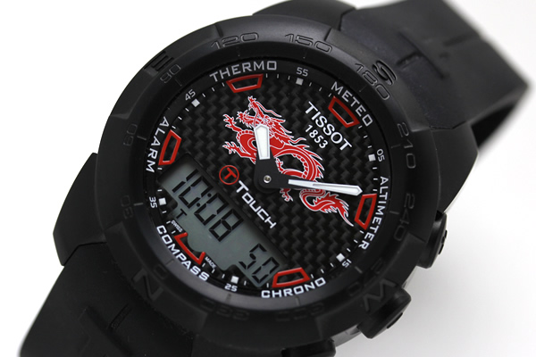 ティソ腕時計 TI-TOUCH ドラゴン 2012
