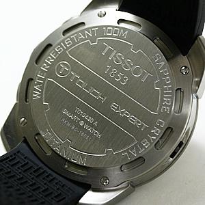 TISSOT ティソ T-TOUCH ティータッチ 腕時計 裏蓋