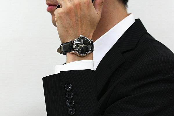 TISSOT ティソ 自動巻き 腕時計 正美堂男性スタッフ着用
