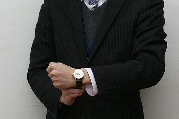 TISSOT ティソ HERITAGE ヘリテージ 自動巻き 腕時計 正美堂男性スタッフ着用