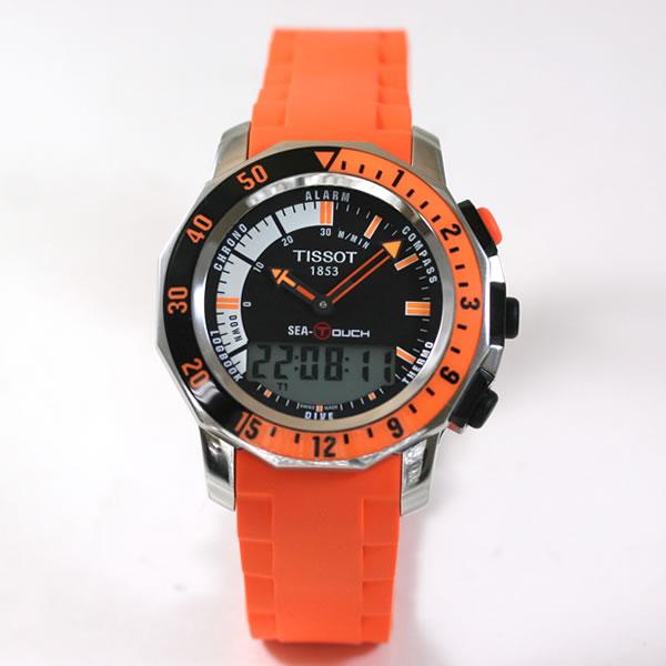 映画海猿でも使用された腕時計ティソシータッチ