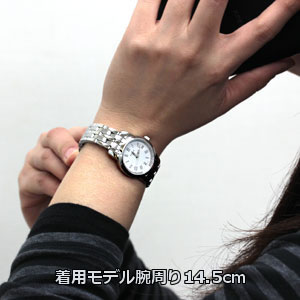 着用モデル腕周り14.5cm T033.210.11.013.10