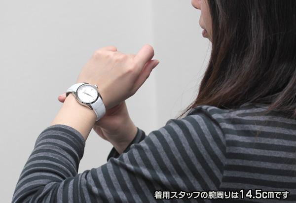 t0352101601100 ティソ TISSOT クチュリエ レディースウォッチ モデルの腕周りは16cmです