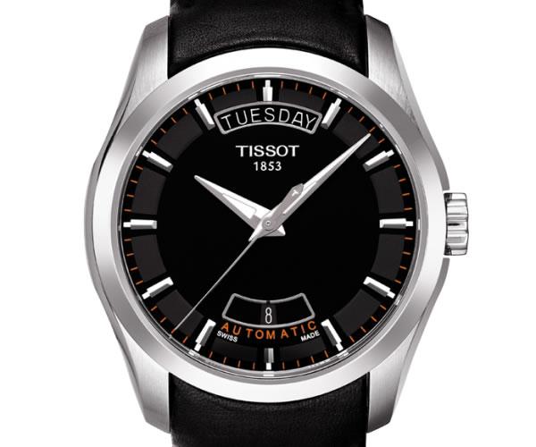 TISSOT 腕時計 デイデイトカレンダー