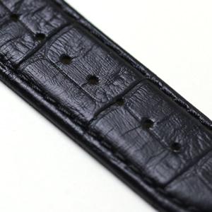 ティソ TISSOT クチュリエ 腕時計 黒の押し革ベルト