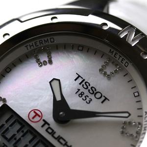 TISSOT ティソ 腕時計 ラバーベルト ブラック