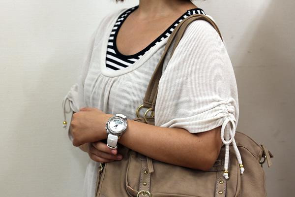 TISSOT ティソ ティータッチ 腕時計 正美堂女性スタッフ着用