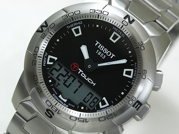 TISSOT ティソ  ティータッチツー 腕時計