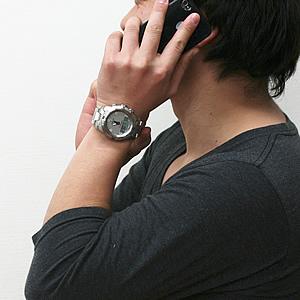 TISSOT ティソ T-TOUCH(ティータッチ) 腕時計 正美堂男性スタッフ着用
