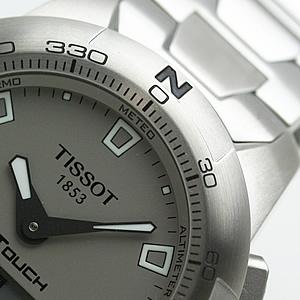 TISSOT ティソ ティータッチ 双方向回転ベゼル 腕時計
