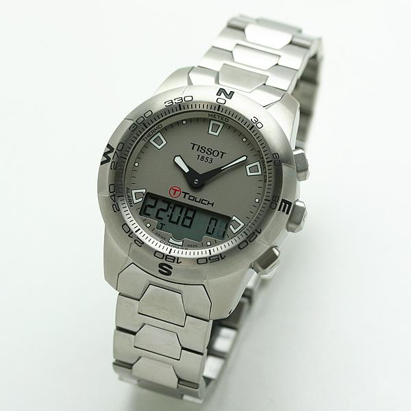 TISSOT ティソ T-TOUCH2 腕時計 ステンレススティールベルト